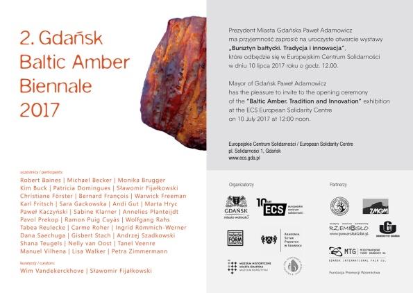 Gdansk Baltic Amber Biennale 2017
