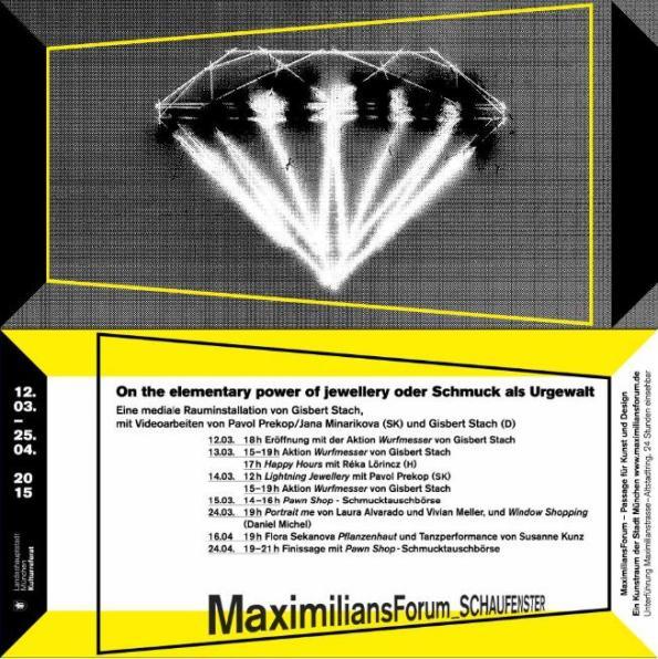 MaximiliansForum_Gisbert Stach_Einladung